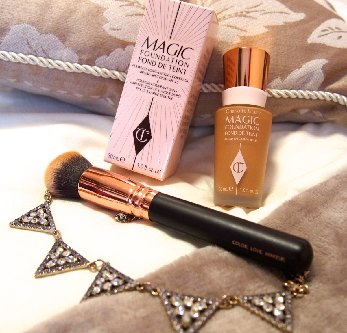 Charlotte Tilbury Magic Foundation | First Impressions