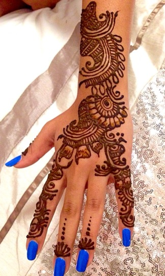 Henna on Ashni