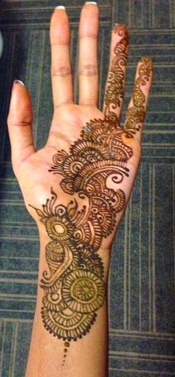 Henna on myself